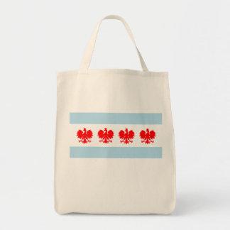 Polish Chicago Flag Bag