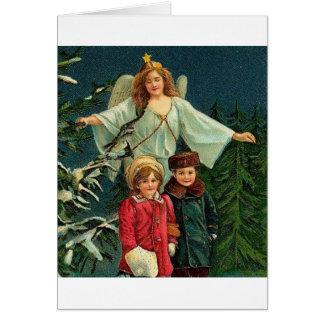 POLISH CHISTMAS ITEMS WESOLYCH SWIAT GREETING CARD
