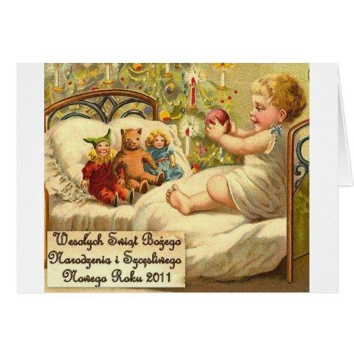 POLISH CHRISTMAS DESIGNS 2 CARDS