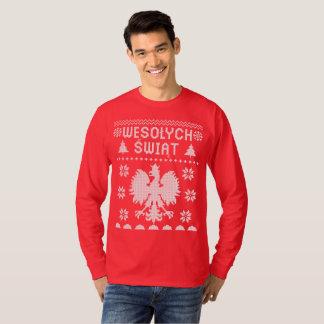 POLISH CHRISTMAS SWEATER SHIRT
