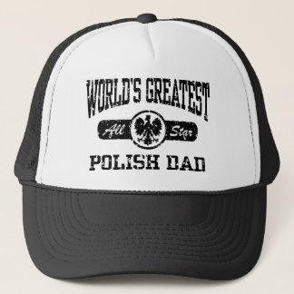 Polish Dad Trucker Hat