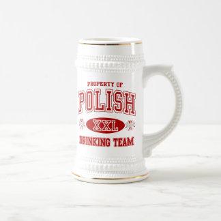 Polish Drinking Team Mugs