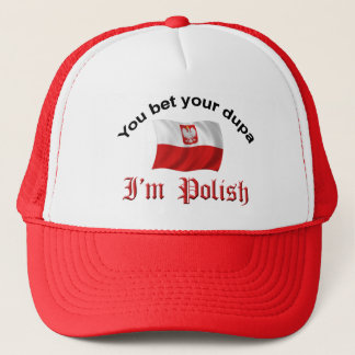 Polish Dupa Trucker Hat