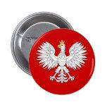 Polish Eagle 6 Cm Round Badge