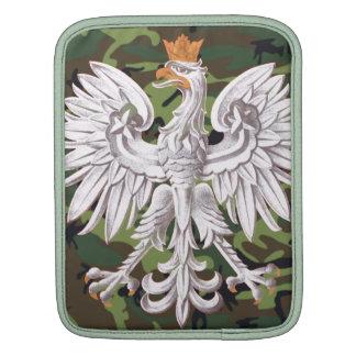 Polish Eagle Camo Rickshaw Sleeve Sleeve For iPads