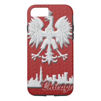 Polish Eagle Chicago Skyline iPhone 7 Case