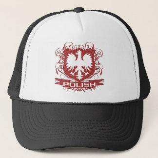Polish Eagle Crest Trucker Hat