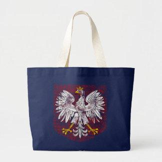 Polish Eagle Dark Tote Bag