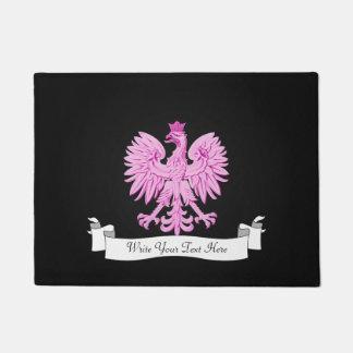 Polish eagle doormat