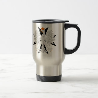 Polish Eagle Maltese Cross Travel Mug