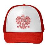 Polish Eagle Mesh Hats