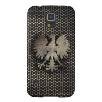 Polish Eagle Metal Style Look Galaxy S5 Covers