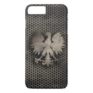 Polish Eagle Metal Style Look iPhone 7 Plus Case