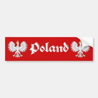 Polish Eagle Poland Bumper Sticker