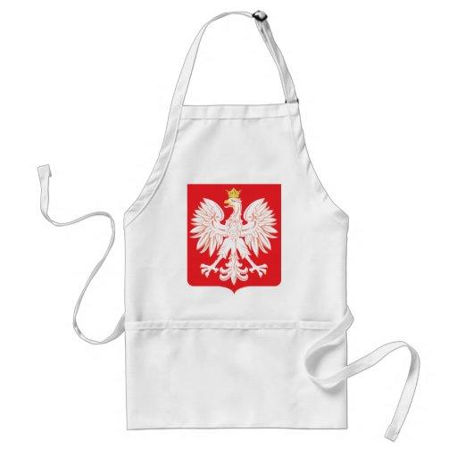 Polish Eagle Red Shield Apron