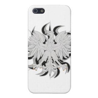 Polish Eagle Sun iPhone 5/5S Cases
