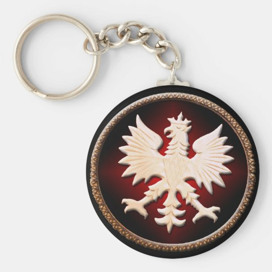 Polish Eagle Vintage Key Ring