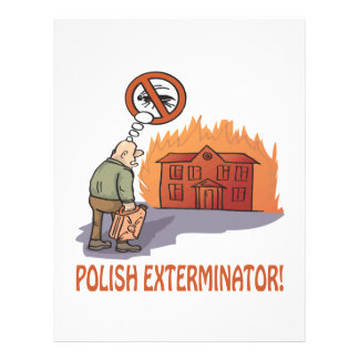 Polish Exterminator Full Color Flyer