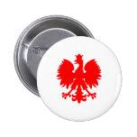 Polish Falcon (Eagle) 6 Cm Round Badge