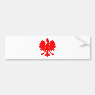 Polish Falcon (Eagle) Bumper Sticker