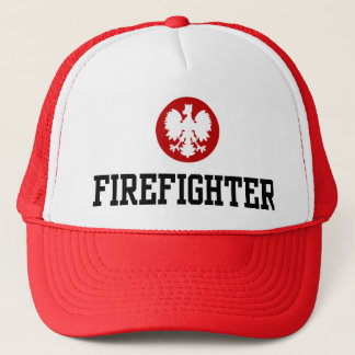 Polish Firefighter Trucker Hat