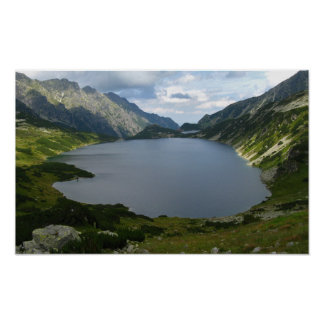 Polish Five Likes Valley, Tatras Poster