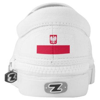 Polish Flag and Polish Eagle Shoes