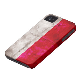 Polish Flag iPhone 4 Cases