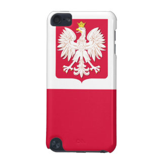 Polish Flag Coat of Arms iPod Touch 5G Cover