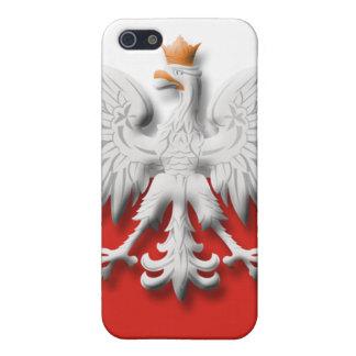 Polish Flag Eagle  iPhone 5/5S Case