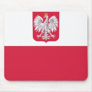 Polish Flag Mouse Mat