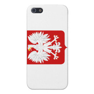 Polish Flag with Eagle Crest  iPhone 5/5S Cases