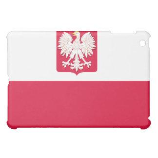 Polish Flag with Eagle  iPad Mini Cover