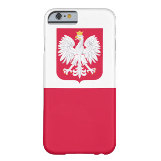 POLISH FLAGE IPHONE CASE BARELY THERE iPhone 6 CASE