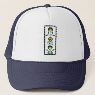 Polish Floral Embroidery, Hat