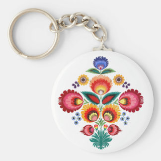 Polish Folk Key Ring