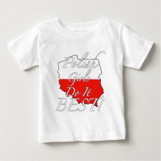 Polish Girls Do It Best! Baby T-Shirt
