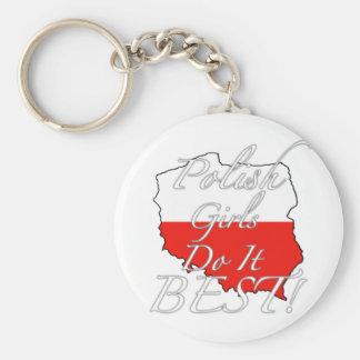 Polish Girls Do It Best! Key Ring