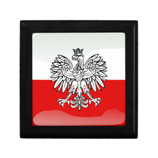 Polish glossy flag gift box