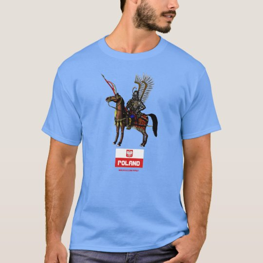 Polish Hussar Poland t-shirt design