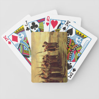 Polish Insurrectionists of the 1863 Rebellion (oil Bicycle Playing Cards