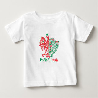 Polish Irish Baby T-Shirt