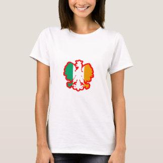 POLISH/IRISH FLAG T-Shirt