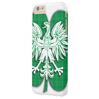 Polish Irish Heritage Shamrock Barely There iPhone 6 Plus Case