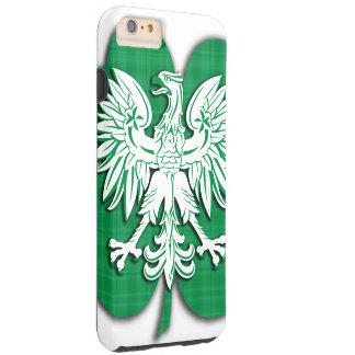 Polish Irish Heritage Shamrock Tough iPhone 6 Plus Case