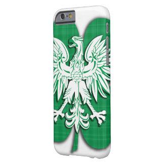 Polish Irish Heritage Shamrock Barely There iPhone 6 Case