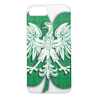 Polish Irish Heritage Shamrock iPhone 7 Case