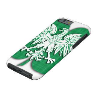 Polish Irish Heritage Shamrock Tough iPhone 6 Case