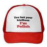 Polish Kielbasa 2 Sides Mesh Hat