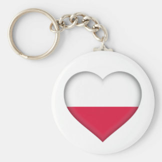 Polish Love Key chain